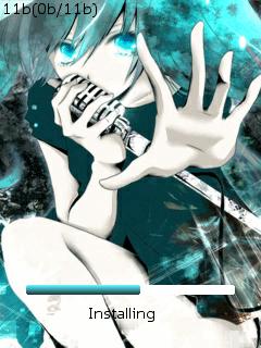 Opera Mini Mod 4.21b21 22715HUI204 Splash & Skin Hatsune Miku Opmod421b21Sshot1